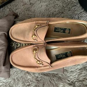 Authentic Men's Suede GUCCI Moccasin Loafers